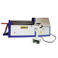 Jamlco NC Hydraulic 4 Roll Plate Bending Rolls Machine