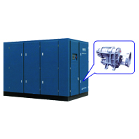 KAITEC Series Screw Compressors (KW Range : 90-400Kw)