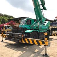 KOBELCO RK250-6 Japan Recon Crane