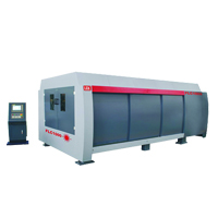 LFK Fiber Laser Cutting Machine With Fully Cover & Pallet Changing Machine