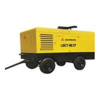 LGCY Series Diesel Engine Portable Screw Air Compressor