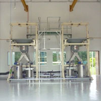 LIME BULK BAG SYSTEM INSTALLATION AT WATER TREATMENT PLANT
