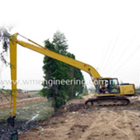 Long Arm Excavator EX200 Rental