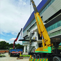 Lorry Crane Mover