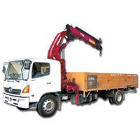 Lorry Crane Rental