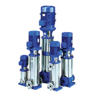 LOWARA Goulds E-SV Vertical Multi Stage Pump