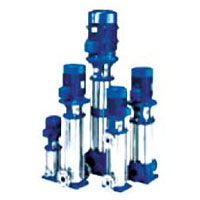 Lowara Vertical Multistage SS Pump