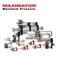 MAXIMATOR Air Driven High Pressure Pumps
