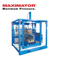 MAXIMATOR Hydraulic Systems And Gas Booster Stations