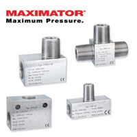 MAXIMATOR Pipe Fittings