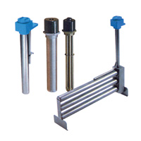 Metal Immersion Heaters  S/S 304, S/S 316, Titanium