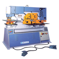 METALEX Hydraulic Ironworker Machine
