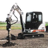Mini Excavator Steel / Rubber Tracks