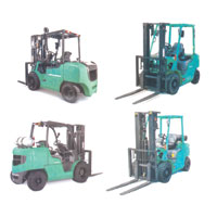 MITSUBISHI Forklifts (New Recondition)