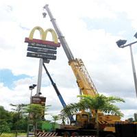 Mobile Crane & Sky Lift