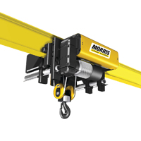 MORRIS Low Headroom Monorail Hoist