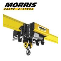 MORRIS Low Headroom Monorail Hoist