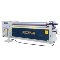 Motorised Asymetrical 3 Rolls Plate Bending Machine