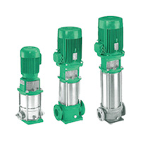 Multi-Stage Vertical Inline Pump