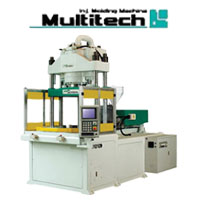 Multitech Plastic Vertical Injection Machine