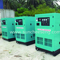 New Used Soundproof Canopy Generator
