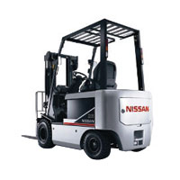 NISSAN Electric Powered Forklift