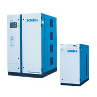 Oil Free Scroll Compressors Silent Power (2.2 Kw ~ 37 Kw)