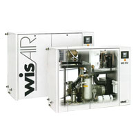 Oil Free, Water-Injected Screw Compressors