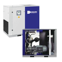Oil-Injected Screw Compressors Variable Speed
