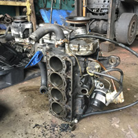 Overhaul Forklift Engine