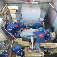 Oxidation Blower Overhaul