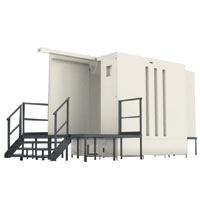PLASTIC BOOTH SYSTEM