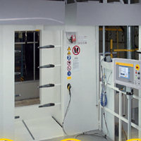 Plastic Booth with profitech M Control System