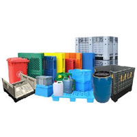 Plastic Container Packaging | Industrial Plastic Container