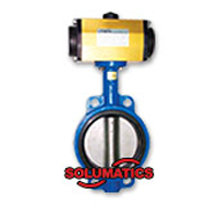 Pneumatic Actuator With Butterfly Valve