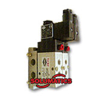 Pneumatic Solenoid With Manifold