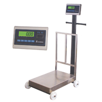 PS-30 Series MS 24 Inch X 17 Inch Platform Scale With Wheels