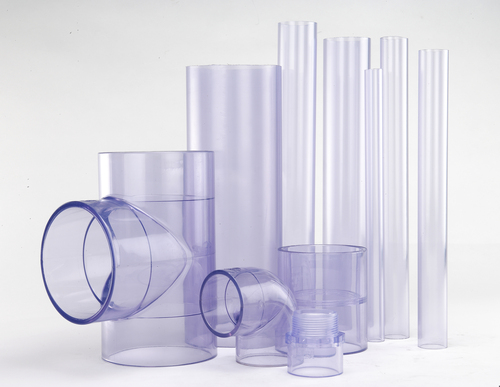 PVC Sch40 Clear Pipe and Fitting