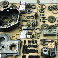 Reasssembly Hydraulic Parts