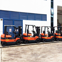 Rental Electric Forklift Unit