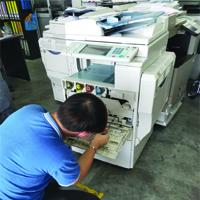 Repair Copier Machine