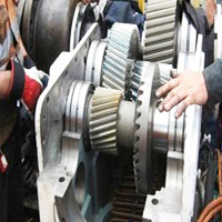 Repairing Of Machinery Parts / Cutting Gears