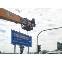 Road Sign Installation