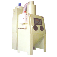 Rotating Basket Suction Blast Machine - Model: RB-1000