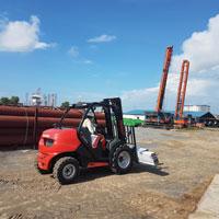 Rough Terrain Forklifts