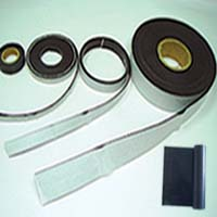 Rubber Magnet With Tape & Magnetic Strip