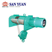 SAN YUAN Electric Wire Rope Foot Mounted Hoist