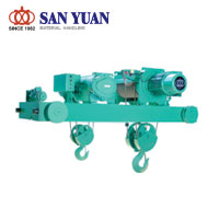 SAN YUAN Electric Wire Rope Main Auxiliary Hoist