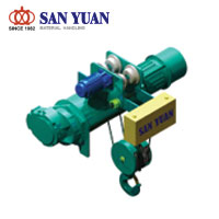 SAN YUAN Electric Wire Rope Monorail Low Headroom Hoist
