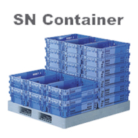 SANKO Plastic Container Stacking Nesting Container